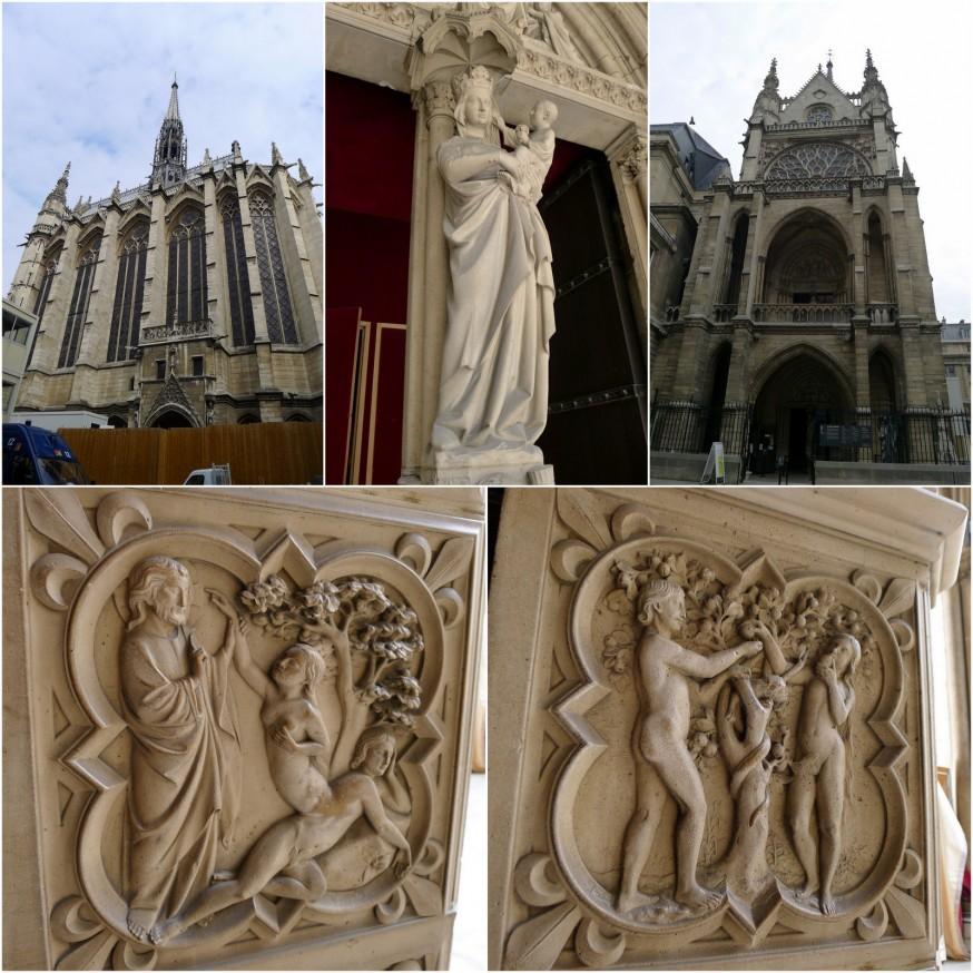 Sainte-Chapelle extérieur
