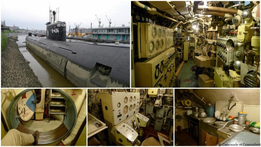 Sous-marin U434 à Hambourg