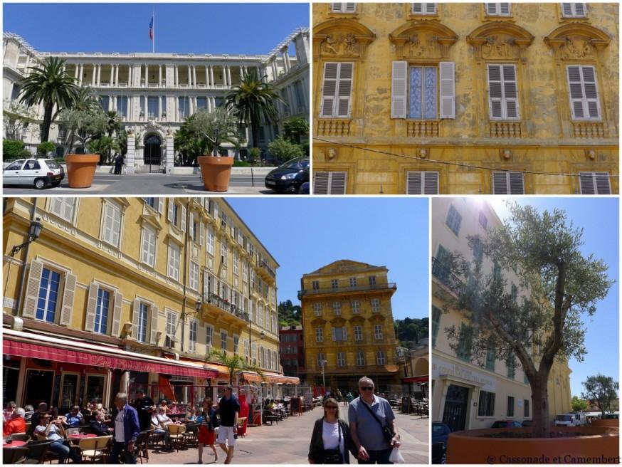 Le cours Saleya dans le Vieux-Nice
