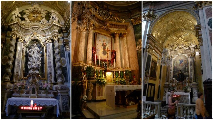 L'église Saine-Rita dans le Vieux-Nice