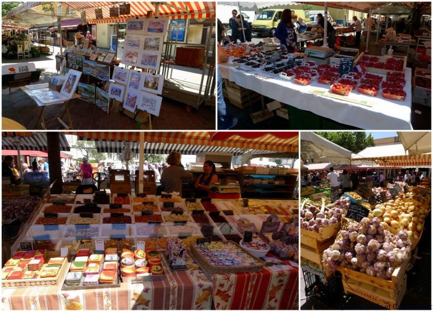 Le marché dans le Vieux-Nice
