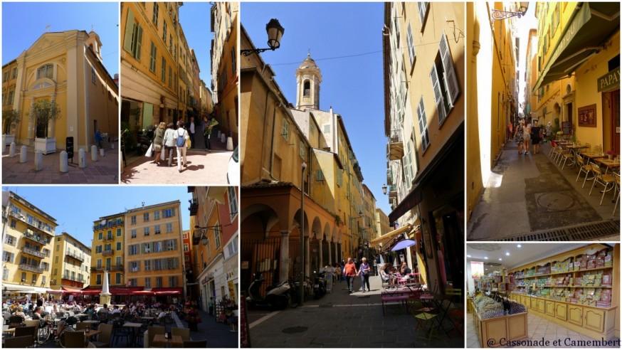 La place Rossetti dans le Vieux-Nice