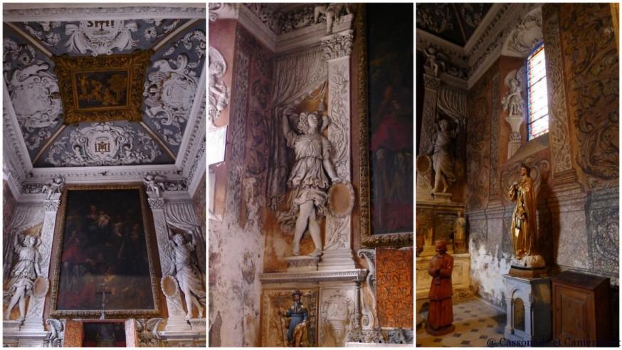 interieur eglise saint paul de vence