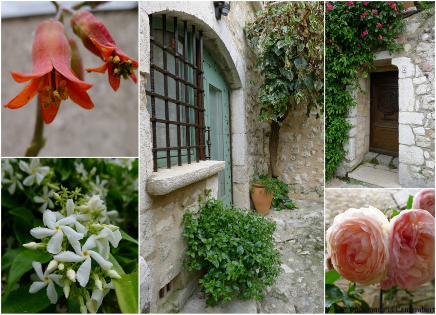 Ruelles fleuries de Saint-Paul-de-Vence
