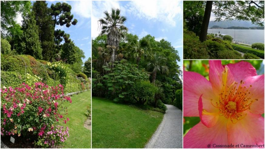 Les jardins de la villa Carlotta sur le lac de come