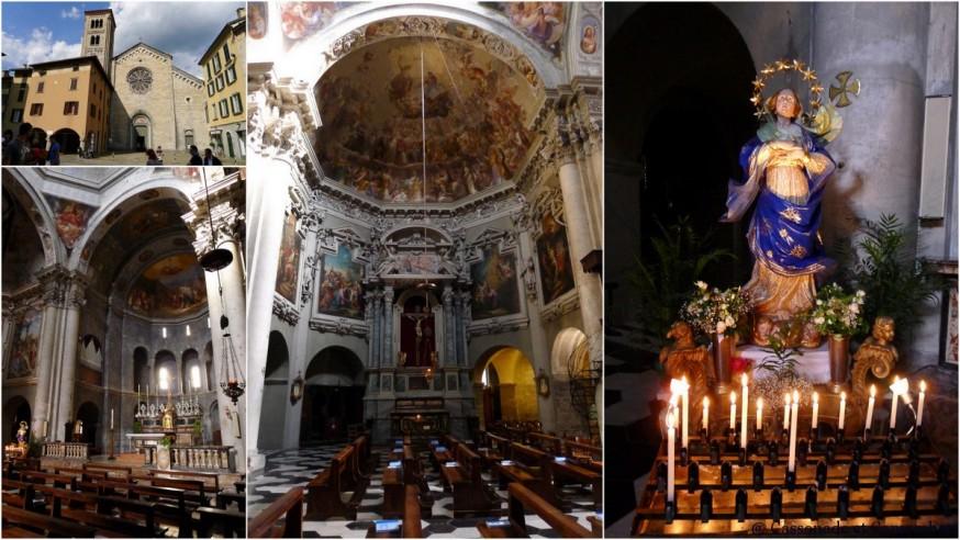 La basilique San Fedele de la ville de Côme