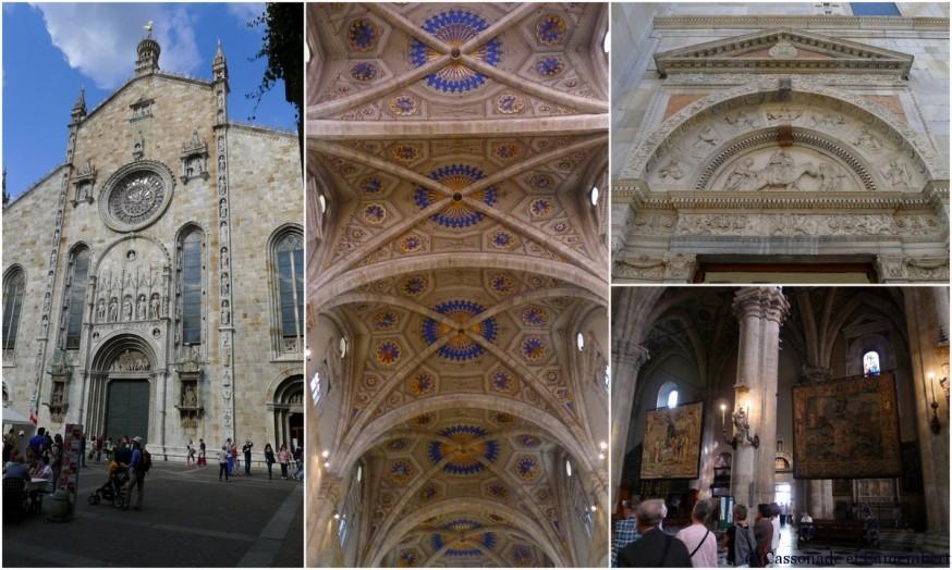 La cathédrale de la ville de Côme