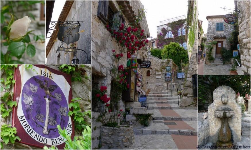 Le village médiéval d'Eze