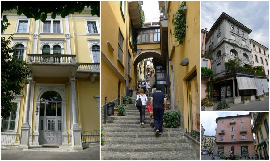 Les hôtels fin de siècle du village de Bellagio sur le lac de Côme