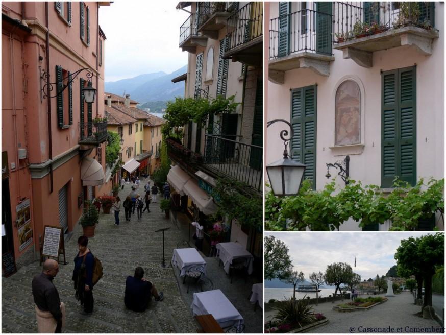 Ruelles du village de Bellagio sur le lac de Côme