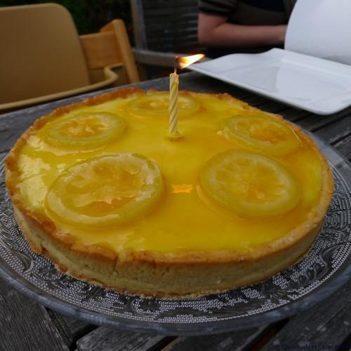 Tarte à la crème de citron de Felder