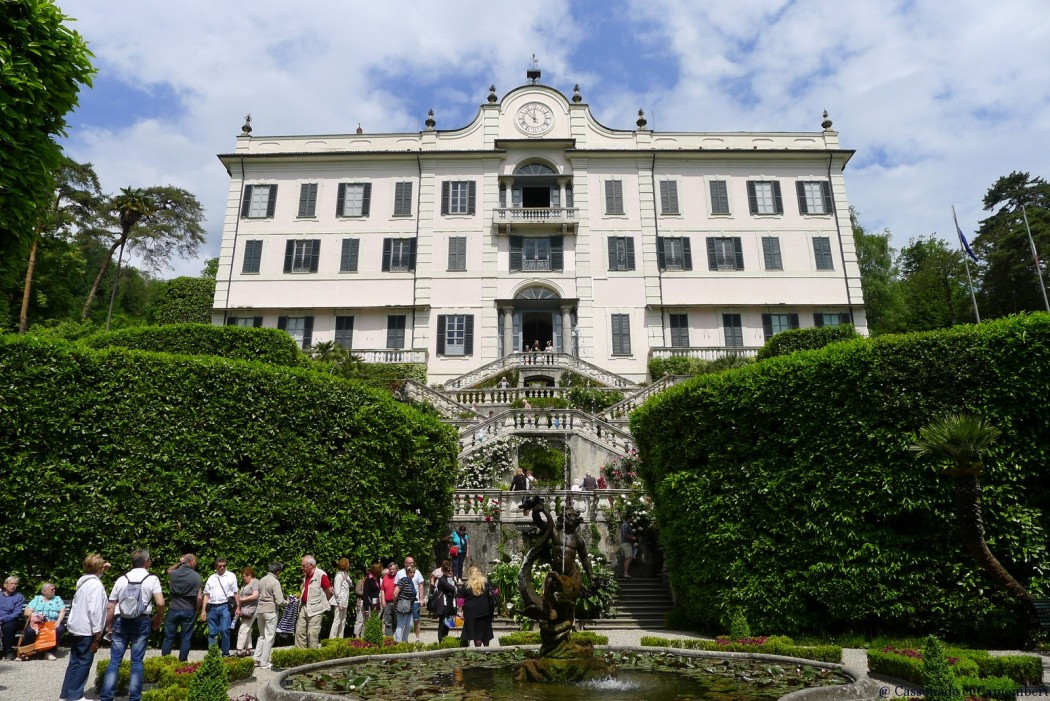 Les jardins de la villa carlotta sur le lac de c me for Conception de la villa