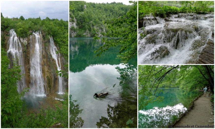 Grande cascade Parc Plitvice