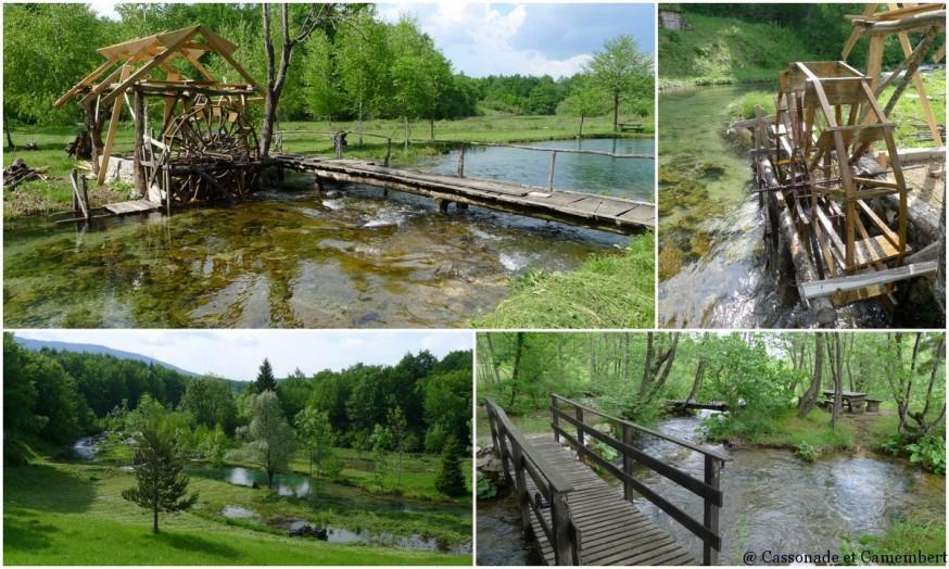 Moulin a eau Plitvice
