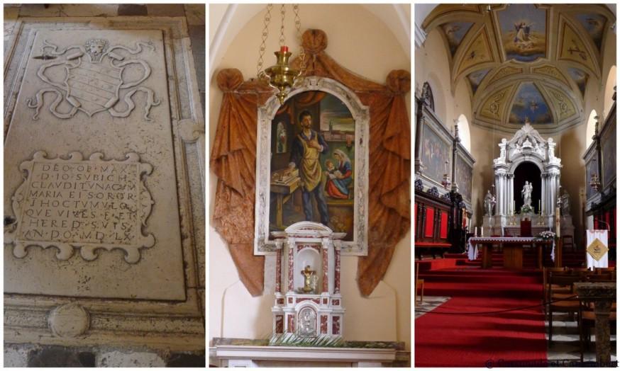 Intérieur de la cathédrale de Krk