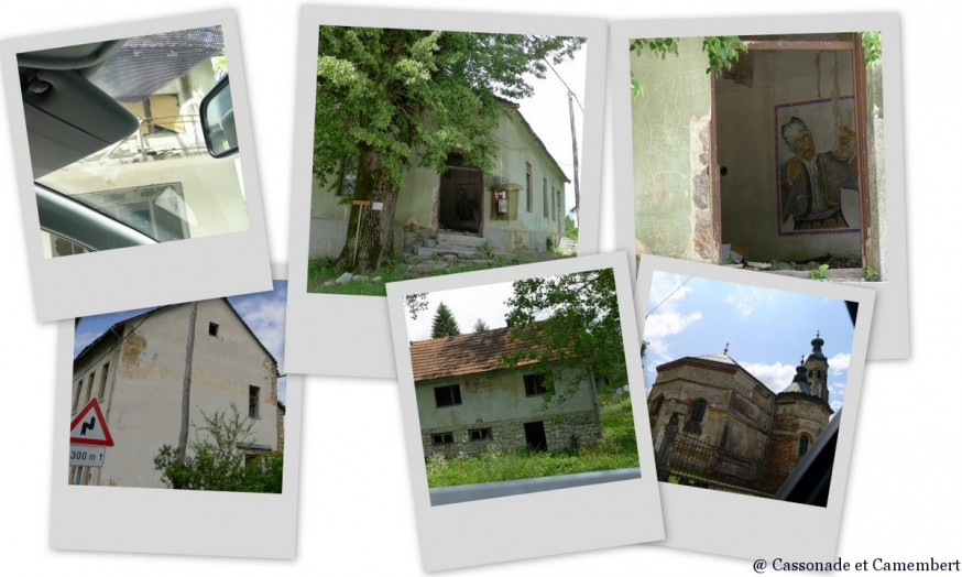 Maisons abandonnées vallée de la dobra