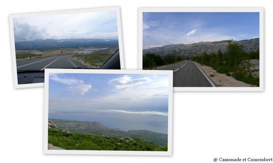 Montée jusqu au parc du Velebit depuis Rab