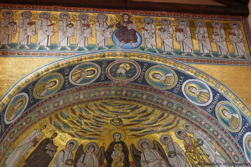Mosaiques basilique euphrasienne Porec