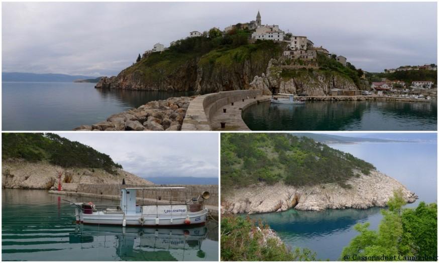 Port de Vrbnik sur l ile de Krk
