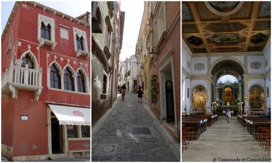 Ruelles eglise St Georges Piran