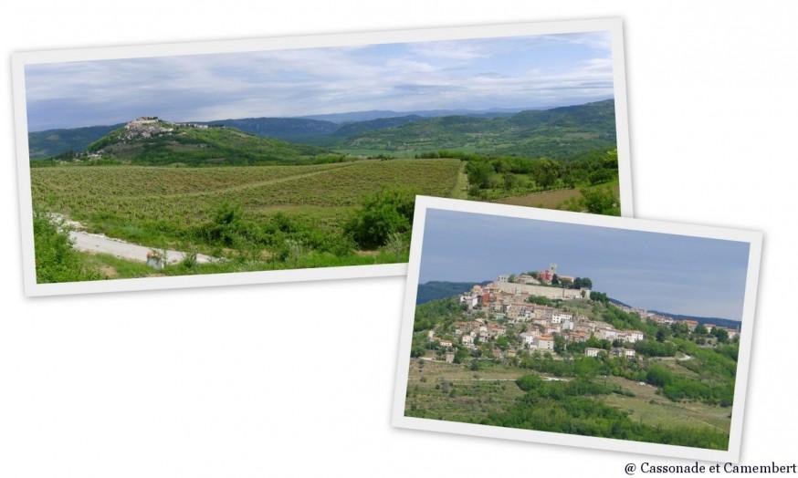 Le village perché de Motovun en Istrie