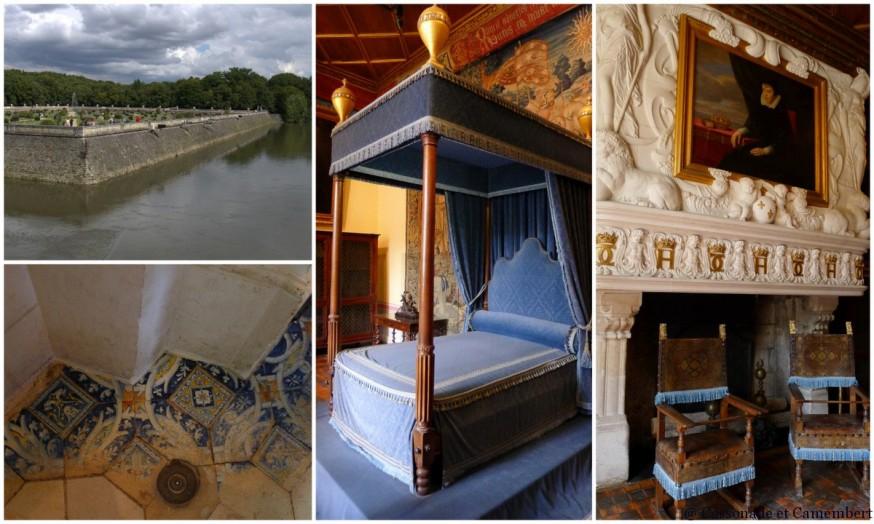 Chambre Diane de Poitiers chateau de Chenonceau
