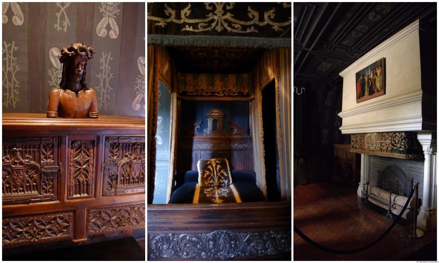 Chambre Louise de Lorraine chateau de Chenonceau