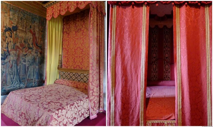 Chambres chateau de Chenonceau