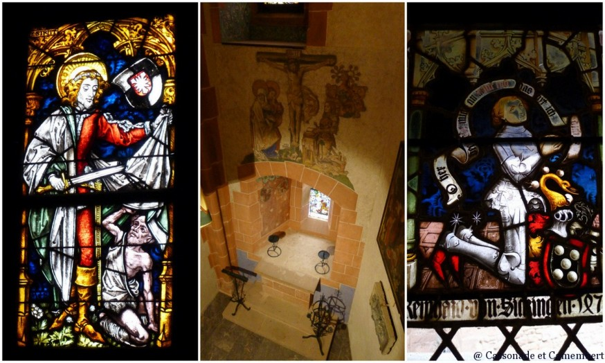 Chapelle chateau Haut Konigsbourg