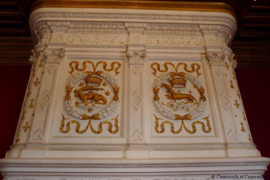 Cheminée chateau de Chenonceau