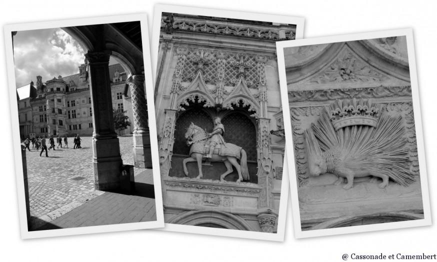 Cour chateau de Blois