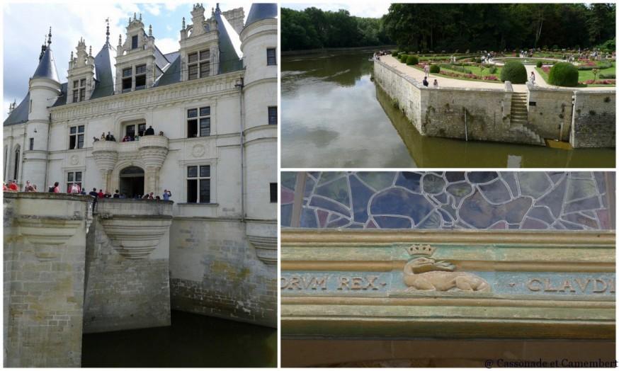 Entrée chateau de Chenonceau