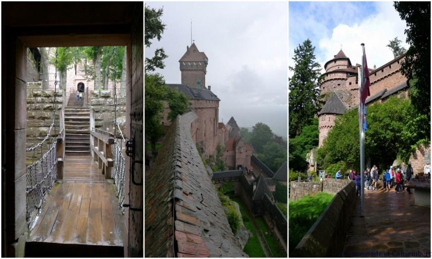 Exterieur chateau Haut Konigsbourg