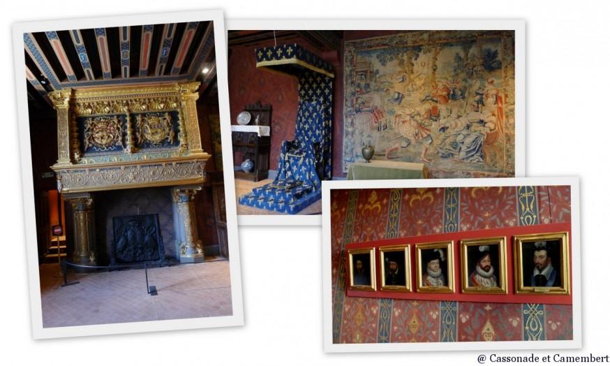 Intérieur chateau de Blois