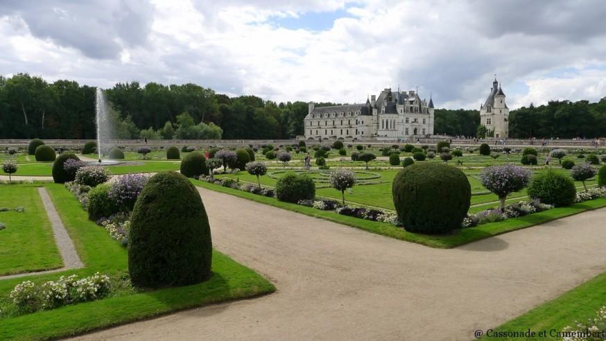Jardin de Diane chateau de chenonceau