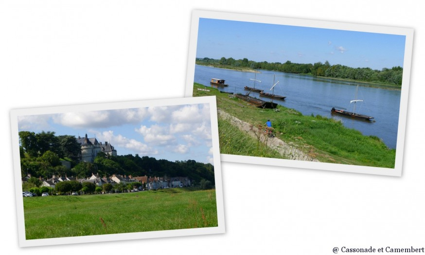Loire à vélo départ de Chaumont-sur-Loire