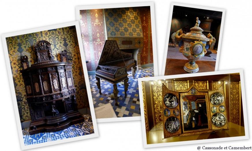 Mobilier chateau de Blois