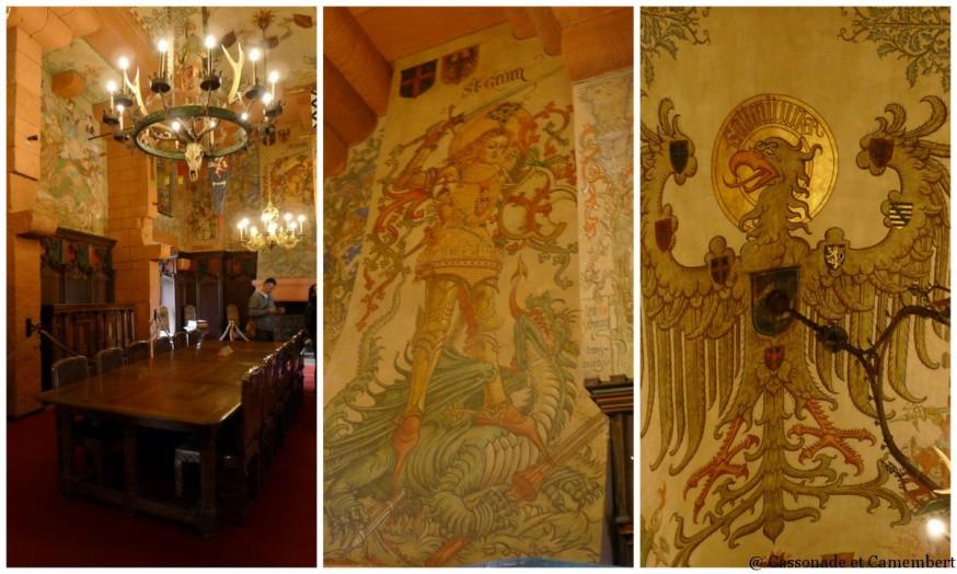 Salle du Kaiser chateau Haut Konigsbourg
