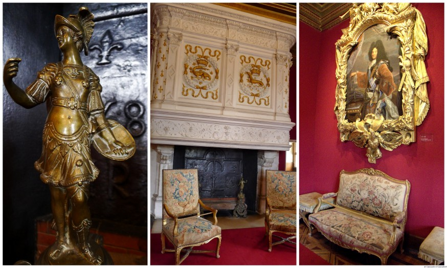 Salon Louis XIV chateau de Chenonceau