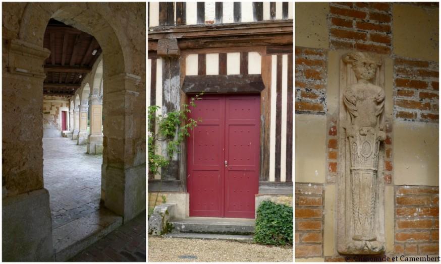 Architecture St Germain de Livet chateau pays d auge