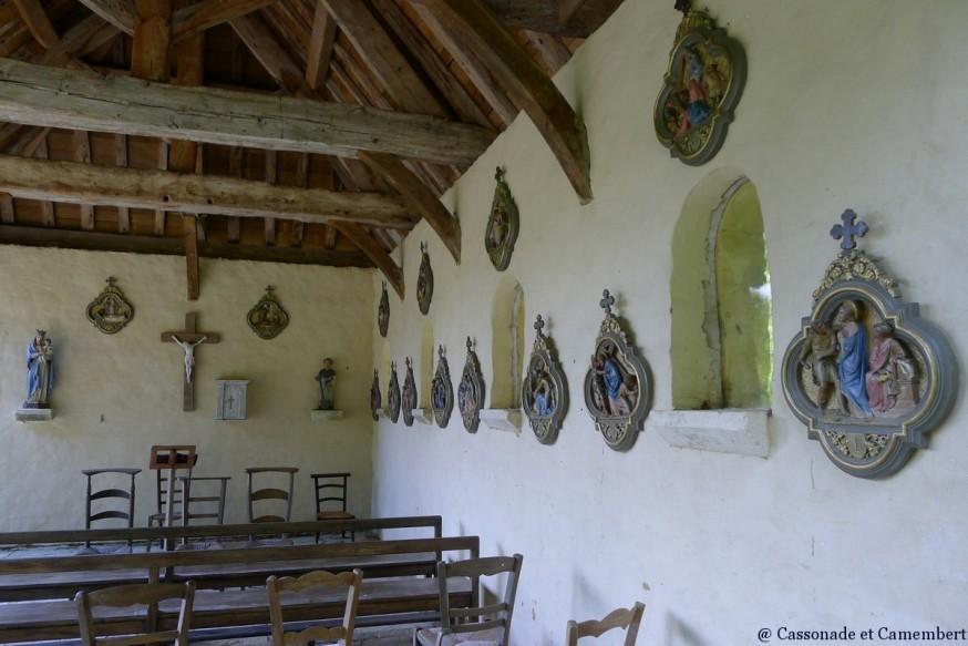 Chapelle Jardins du Pays d Auge