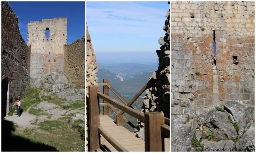 Chateau de Montsegur cathares Ariege
