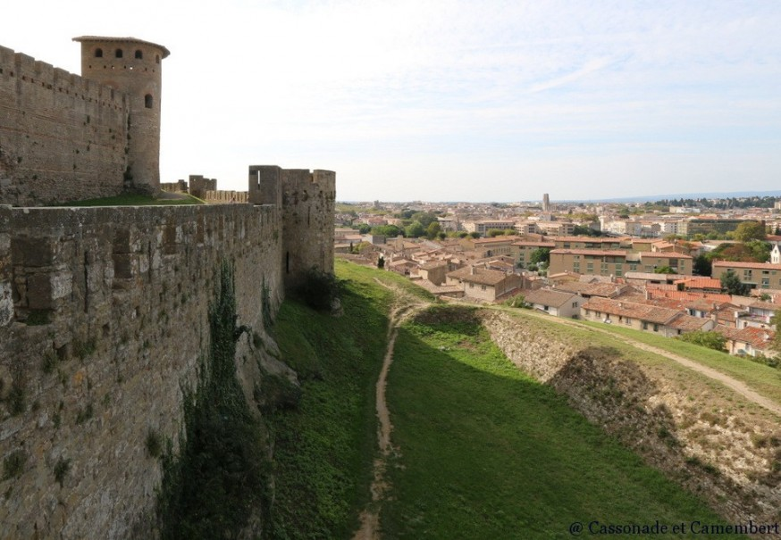 Doubles remparts carcassonne