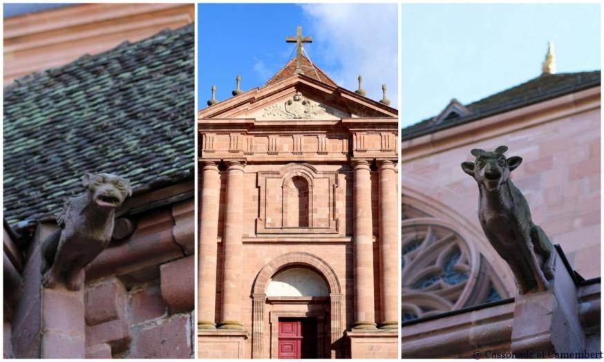 Facade cathedrale St Die des Vosges