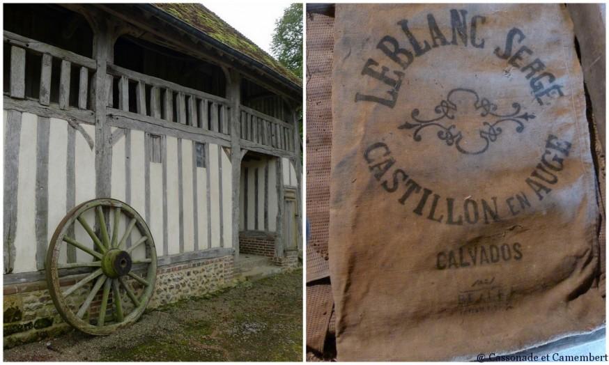 Grange manoir de Bellou pays d auge