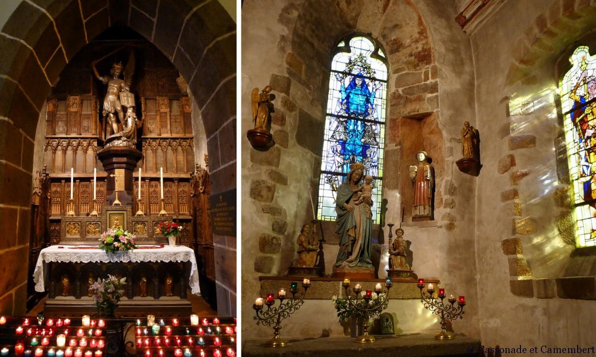 Le mont saint michel et sa baie cassonade et camembert for Mont saint michel interieur