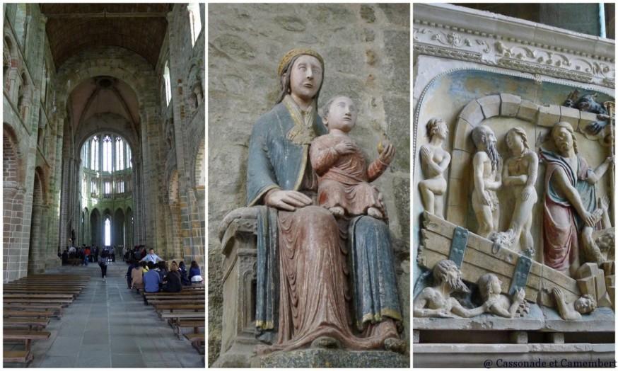 Intérieur Abbaye Mont Saint-Michel