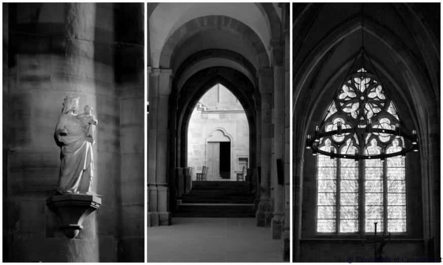 Nef cathedrale St Die des Vosges