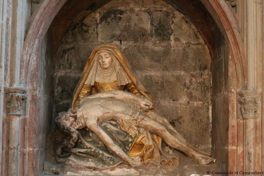 Pieta eglise Carcassonne