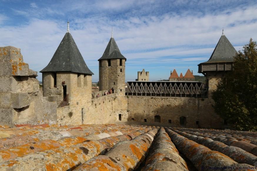 Remparts du chateau de Carcassonne
